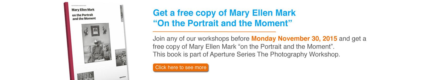 Mary Ellen Mark Aperture Book Promotion