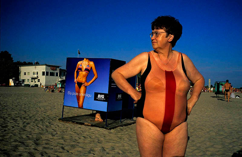 Tino Soriano Woman in swimming costume at PARNU BEACH (Estonia)