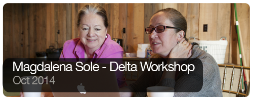 Magdalena Sole - Delta Workshop - Oct 2014 - Trips