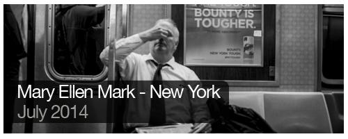 Mary Ellen Mark - New York - July 2014 - students