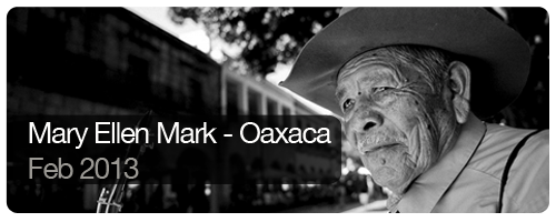 Mary Ellen Mark - Oaxaca - Feb 2013 - students