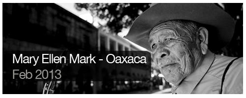 Mary Ellen Mark - Oaxaca - Feb 2013 - students
