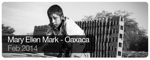 Mary Ellen Mark - Oaxaca - Feb 2014 - students
