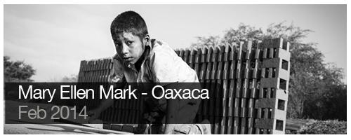 Mary Ellen Mark - Oaxaca - Feb 2014 - students