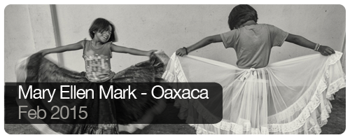 Mary Ellen Mark - Oaxaca - Feb 2015 - students