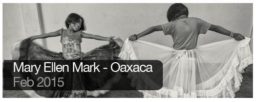 Mary Ellen Mark - Oaxaca - Feb 2015 - students