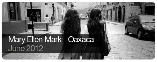 Mary Ellen Mark - Oaxaca - June 2012 - students