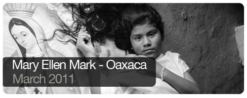 Mary Ellen Mark - Oaxaca - March 2011 - students