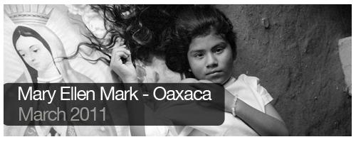 Mary Ellen Mark - Oaxaca - March 2011 - students