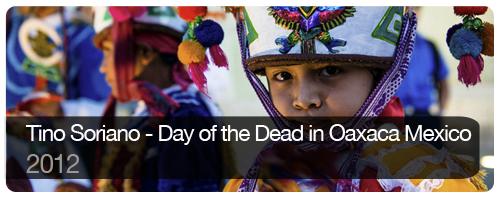 Tino Soriano - Day of the Dead in Oaxaca Mexico - 2012 - students