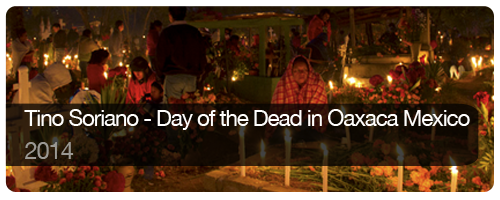 Tino Soriano - Day of the Dead in Oaxaca Mexico - 2014 - students