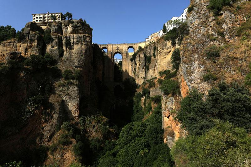 Andalucia Ronda bridge