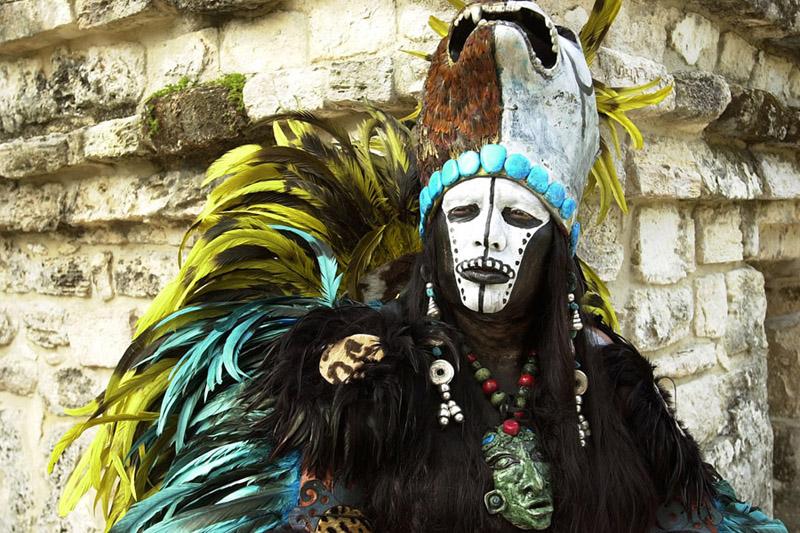 Mayans sorcerer