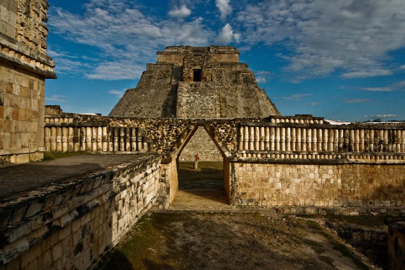 Mayans pyramid