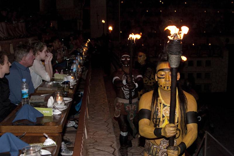 Mayans ceremony