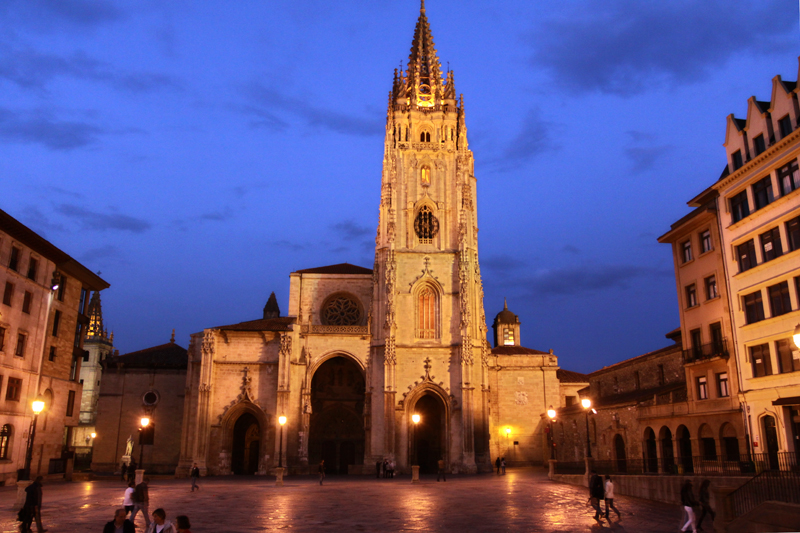 Saint James Way, Oviedo cathedral Spain