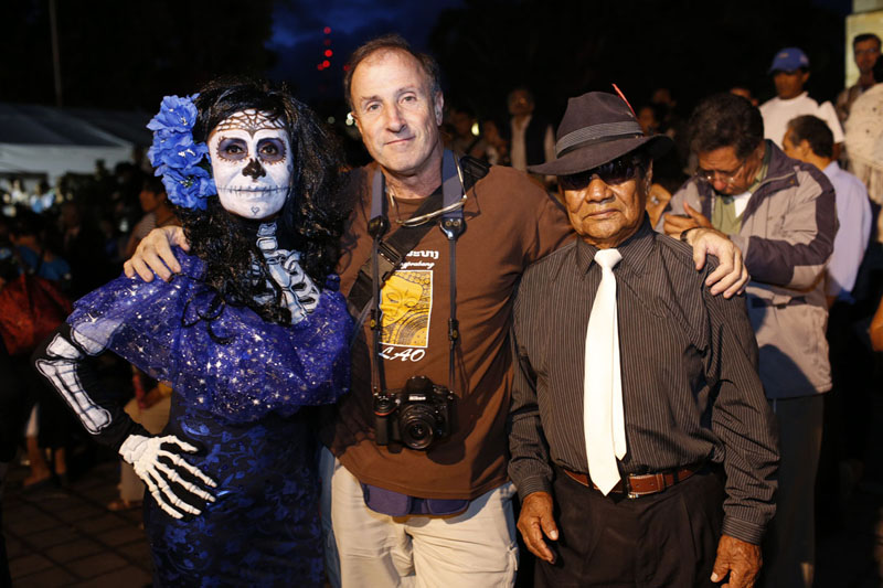 Tino Soriano at the Trip Day of the Dead in Mexico with Photo Xpeditions in 2013