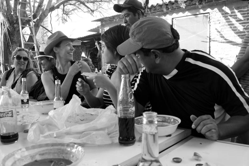 Students on workshop Oaxaca | Photoxpedions