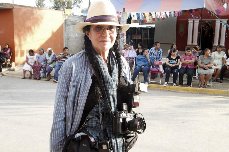 Mary Ellen Mark on workshop Oaxaca 2013 | Photo Xpedions