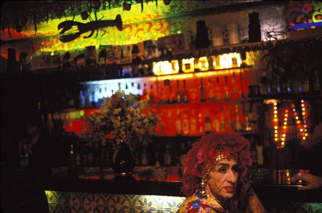 El Raval Quarter. El Cangrejo Bar.