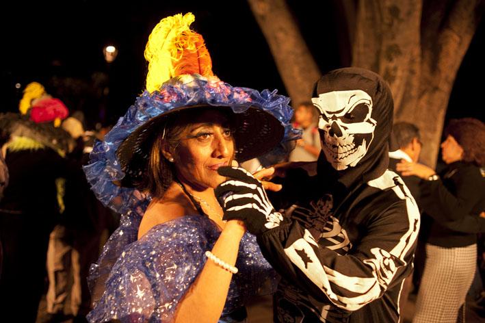 "Day of Death in Oaxaca - Mexico - Dancing ""Danzon"""